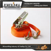 Discount! factory stainless steel webbing ratchet belt