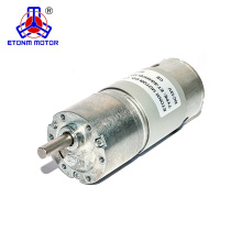high efficient dc gear motor for 12v 24v gear motor