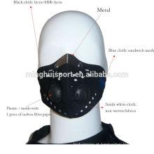 Máscara de treinamento de esportes de motocross de máscara de alta qualidade máscara facial