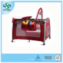 Playground de aluminio colorido del bebé con la alta red de mosquito (SH-A3)
