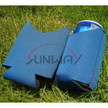 New Design Collapsible Neoprene Stubby Koozie, Beer Can Holder (BC0039)