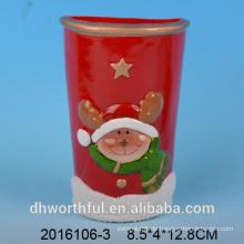 Weihnachtsdekor Keramik Luftbefeuchter mit Hirschfigur
