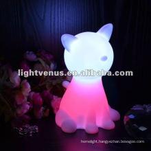 New Design fashion unique soft night light for baby