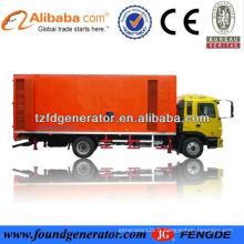 Chine fournisseur 150kw camion monté générateur