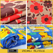 printed poly-cotton canvas fabrics