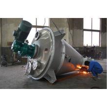 Mezclador cónico de doble tornillo de la serie DSH 2017, reactor de vacío SS, equipo de mezcla de polvo horizontal