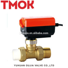 New PPR brass color 20x15 Electric globe valve