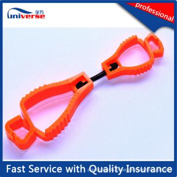 Gants en plastique de sécurité de haute qualité Clips Guard