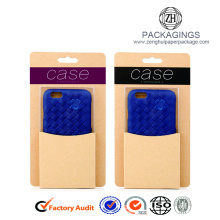 Customized hard board mobile phone case box
