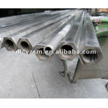 External Hexagon Internal Circle Steel Pipe