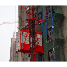 Grua de construção civil