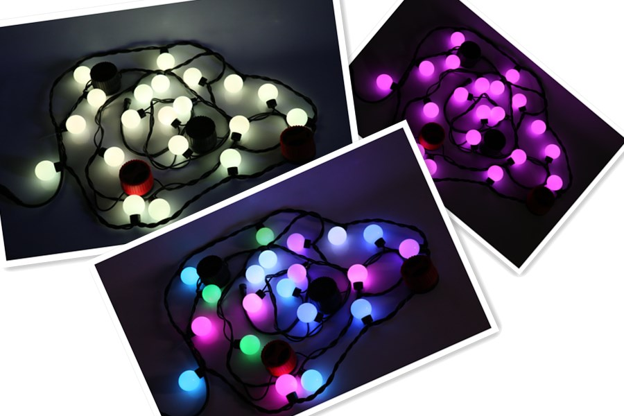 Smart string lights with Loudspeakers fashionable