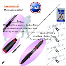 SLJ010 alibaba chine marché canne à pêche en fiber de carbone lente pitch jigging rod