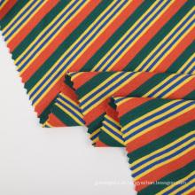 Tecido de jersey de viscose spandex tingido com fio de rayon tricotado