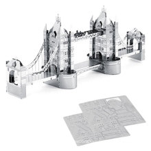 DIY Toy 3D Medels Item Metallic Nano Puzzle
