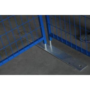 Security site fencing panels 6x12 feet
