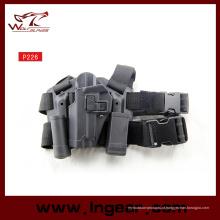 Exército P226 tático gota coldre perna mão esquerda arma coldre para pistola coldre