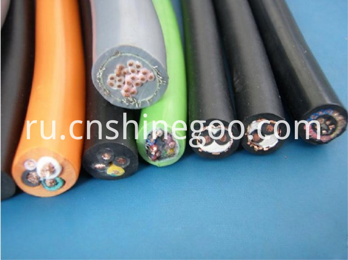 Silicon rubber insulated pvc sheathed Steel tape armoured power cable