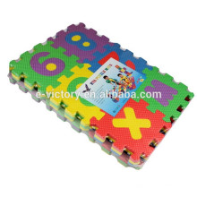 36pcs Colorful Education Kids Game Carpet Blankets Baby Alphabet Numbers Soft Foam Play Puzzle Mats