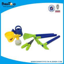 7PCS kid mão ferramentas de jardim conjunto de brinquedos
