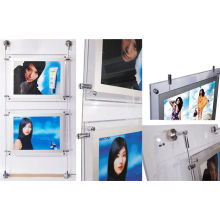 Acrylic Crystal Led Backlit Light Box , A3 Advertising Panel Outdoor