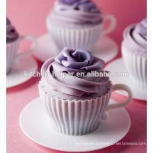 Modern Cake Tools Silicone Mini Cupcake Molde / Silicone Bolo Cup Mold / Bolo De Silicone Mold / Silicone Pancake Moldes