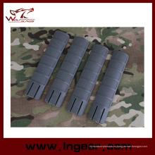 Rifle táctico Handguard Rail cubierta de Td estilo 4PCS