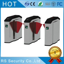 Pedestrian Entrance Exist Flap Barrier Turnstile Gate