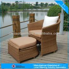 Новый стул ротанга PE синтетический ротанг сплетенный открытый сиденье
