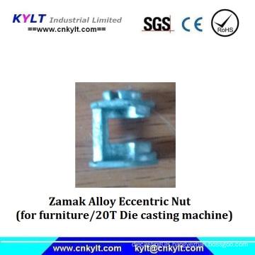 Zinc Metal Eccentric Nut for Office Desk