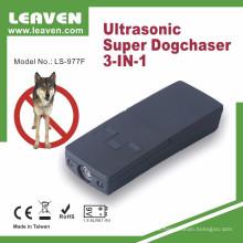Cazador ultrasónico portable del repeller del instrutor de perro portable accionado por batería