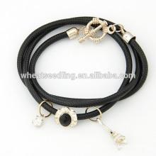 The Eiffel Tower hang drop multilayer bracelet handmade bracelet