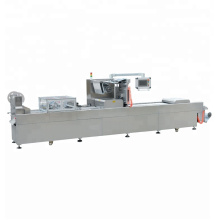 Fully automatic food  Meat Thermoforming vacuum skin packaging machine