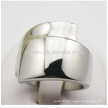 Китай фабрика пользовательских ювелирных серебра широкий унисекс титановые кольца бланки