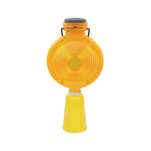road construction solar hazardous location warning light