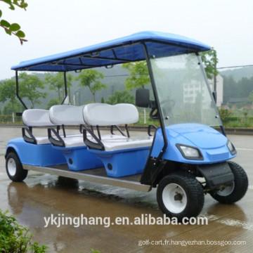 CE certification 6 passenger essence power golf sightsseing panier utilisé pour scenic arear