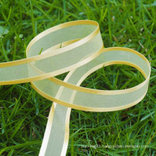 high quality gold organza ribbon,organza ribbon wholesale