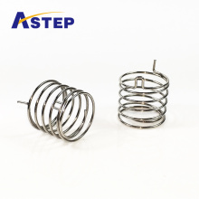 Customized Aluminum metal button spring for electronic