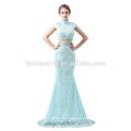 2018 новый стиль зеленый цвет кружева вечернее платье горячая распродажа длинные дизайн 2шт установить реальные вечернее платье