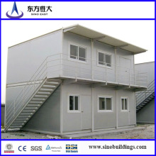 Container Sandwich Panel / Flat Pack Container / 2 étages Prefab Container