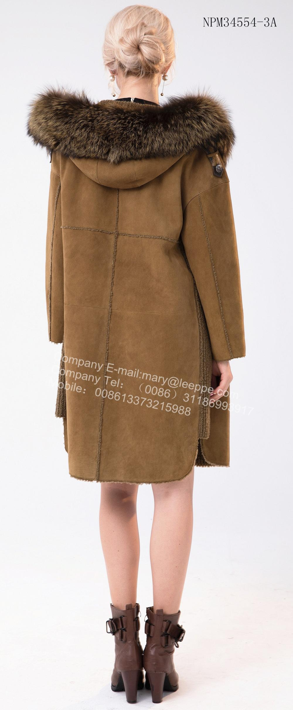 Women Medium Hooded Coat