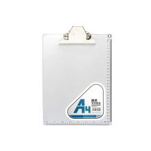 Alunium alloy 26*316 mm silver A4 paper menu clip board