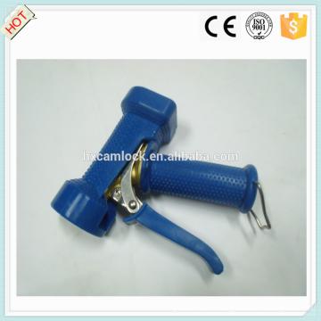 Couvercle bleu en laiton résistant lavage pistolet