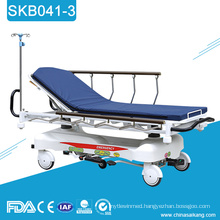 SKB041-3 Steel Hospital Patient Trolley Price