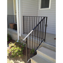 Wrought Iron Outdoor Railings