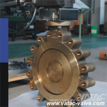 Center-Lined Lug/Full Lug/Flanged R. F A126 B&A216 Wcb Butterfly Valve Lever