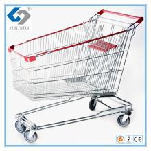 150L Asien Einkaufswagen mit großer Kapazität