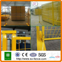 Australia or Canada High standard Galvanized PVC coated Temporary Fence