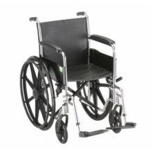 """Cadeira de rodas manual 16 """"largura do assento"""