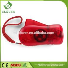 Mini 3 LED Handkurbel Dynamo LED Taschenlampe